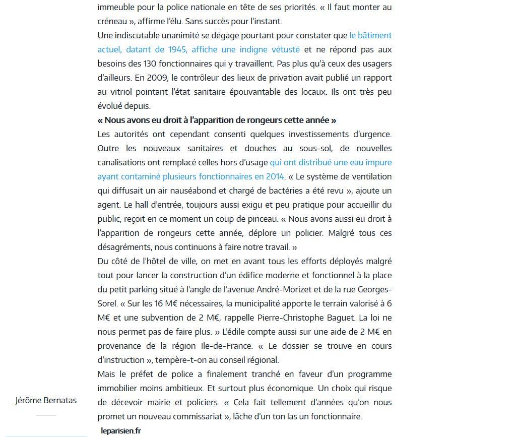 Commissariat de Boulogne-Billancourt Clipb160