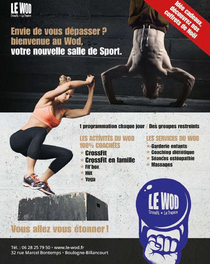 Salle de sport Le Wod - CrossFit Le Trapèze Clipb169