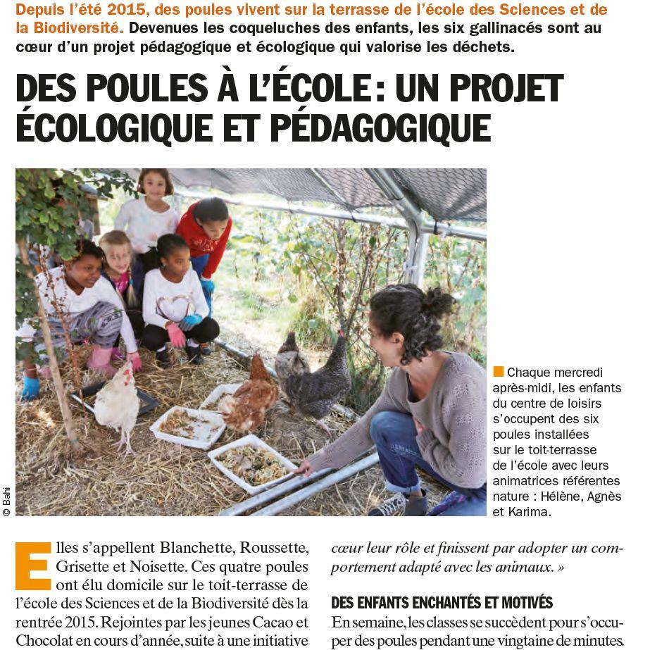 Groupe scolaire des Sciences et de la Biodiversité : informations et photos Clipbo28