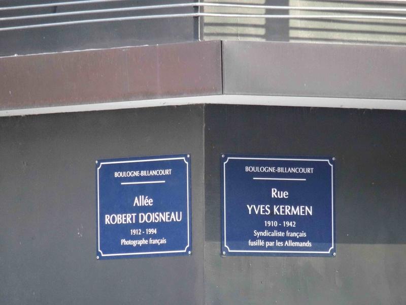 Plan du trapèze / nom des résidences et des rues Dsc05930