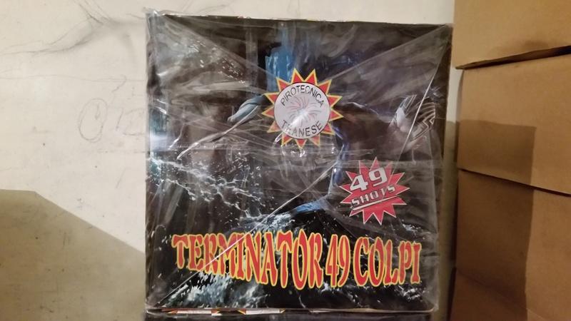 COLPI - Art 4901 Terminator 49 colpi 20161116