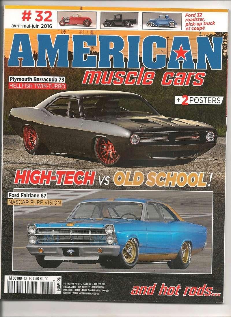 American Muscle Cars 31à 34 janv. à déc. 2016 Americ10