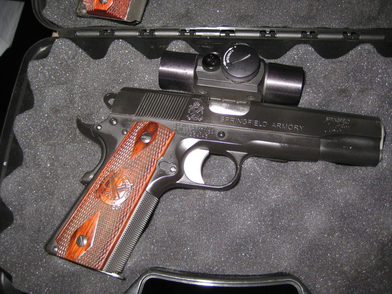 WTS Springfield Custom Shop/David Sams built 1911 Wad gun Img_0023