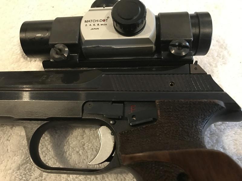 FS Hammerli P240 32 SW Long target pistol  Price Reduced Img_3116
