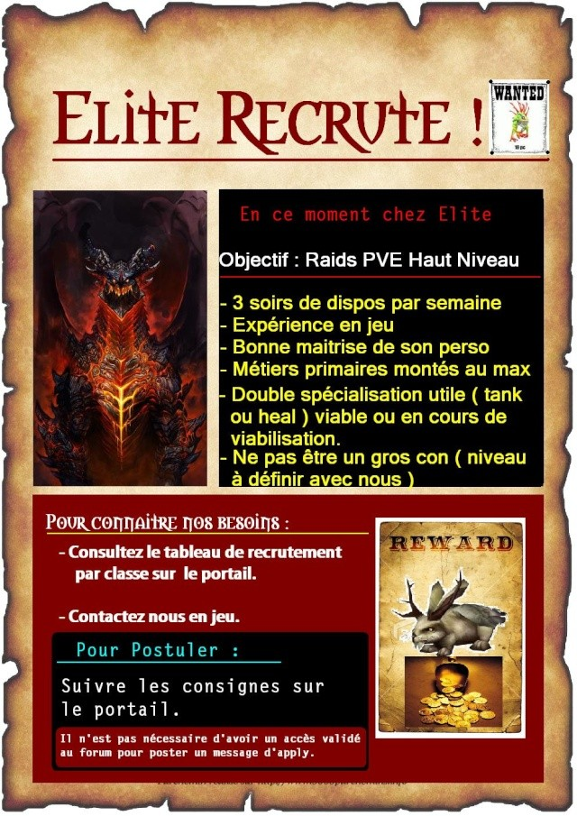 Nouvelle campagne de recrutement Recrut11