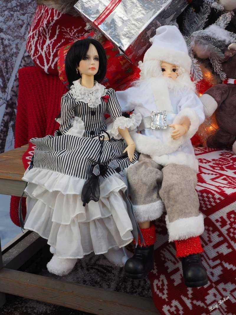 (Zabeille) Rodrigue et Valentina ont rencontré le Père Noël avant l'heure Rodrig10