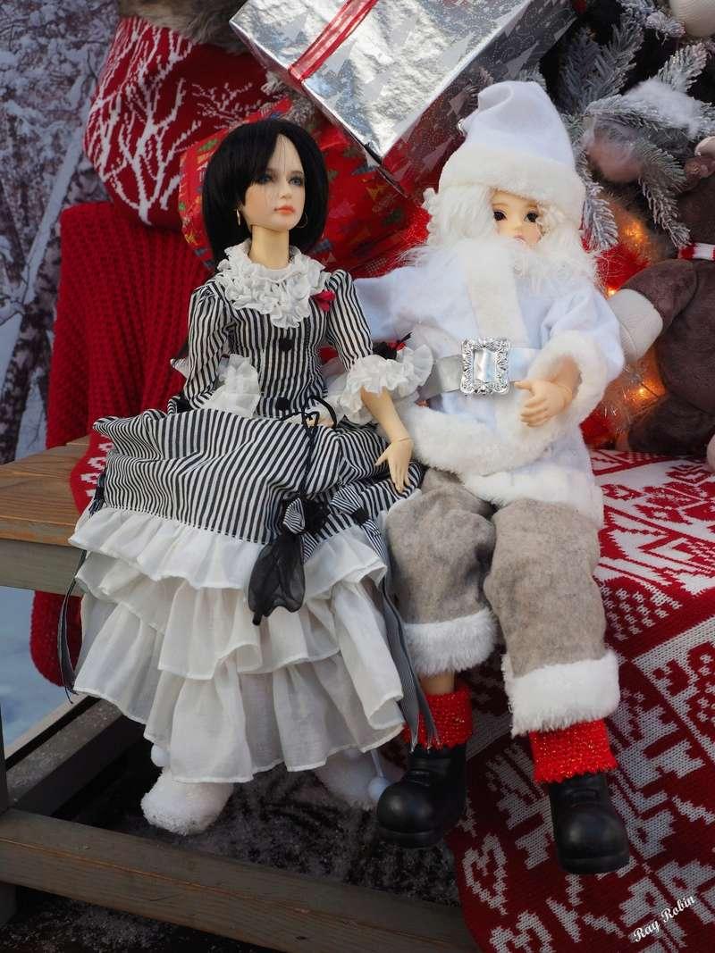 (Zabeille) Rodrigue et Valentina ont rencontré le Père Noël avant l'heure Rodrig11