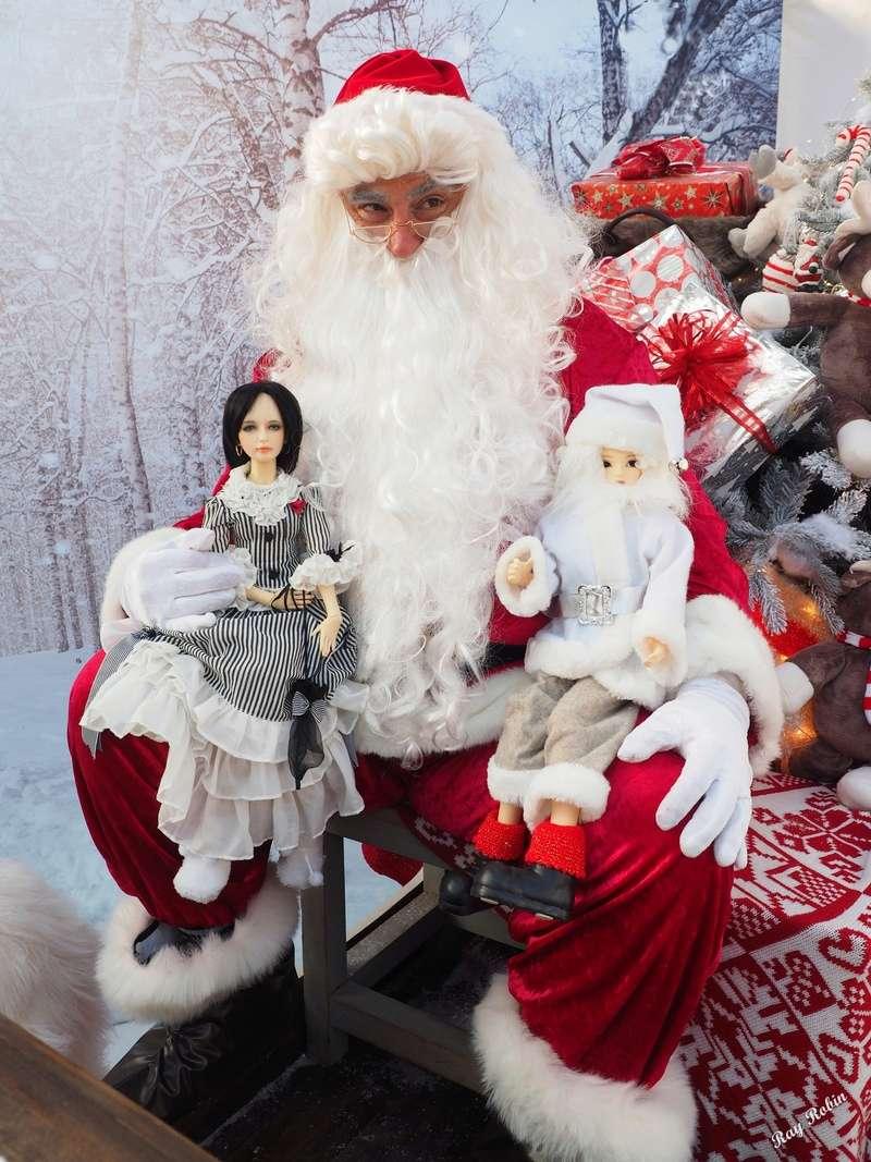(Zabeille) Rodrigue et Valentina ont rencontré le Père Noël avant l'heure Rodrig12