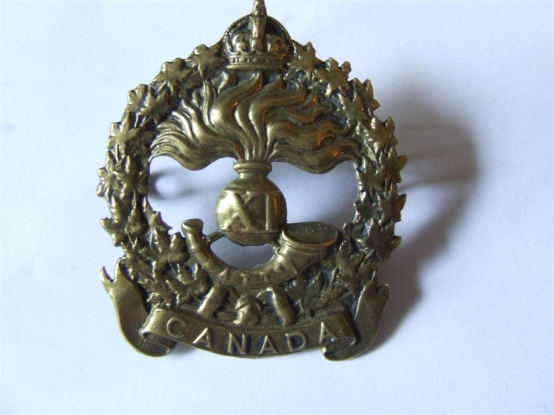 11th Battalion CEF Officers Cap Badge 2010_010