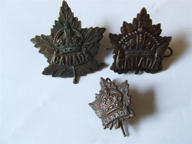 11th Battalion CEF Officers Cap Badge 2010_013