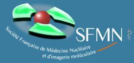 Le logo ed la socité française de médecine nucléaire Logosf10
