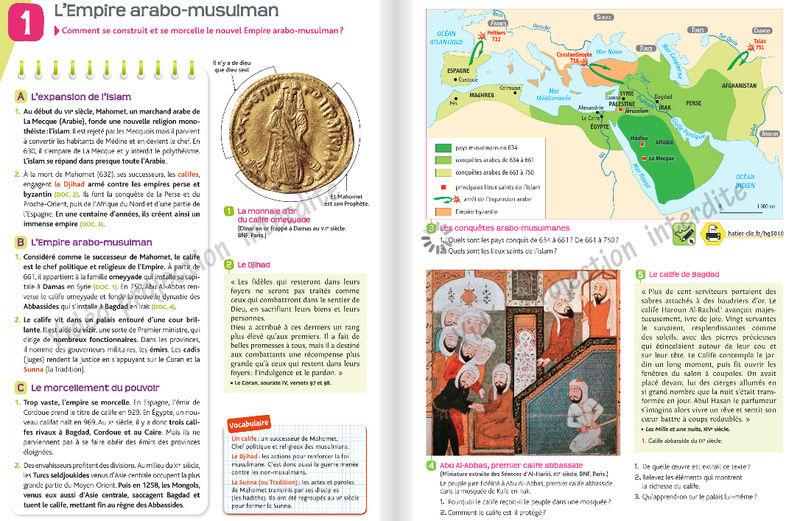 Comment l'islam est abordé dans les manuels scolaires ?  Hatier11