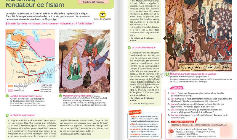 Comment l'islam est abordé dans les manuels scolaires ?  Hatier12