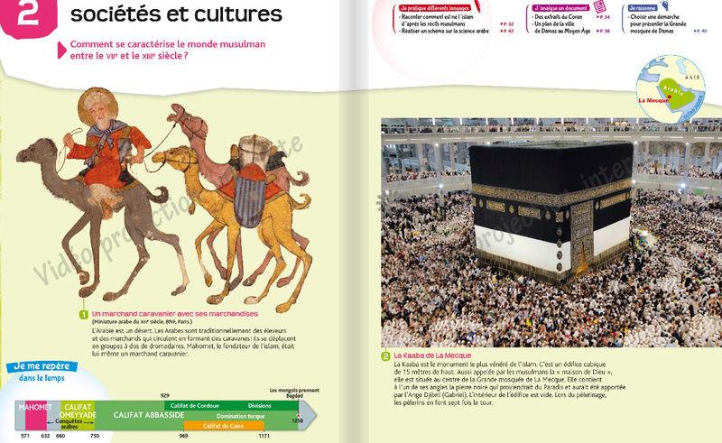 Comment l'islam est abordé dans les manuels scolaires ?  Hatier13