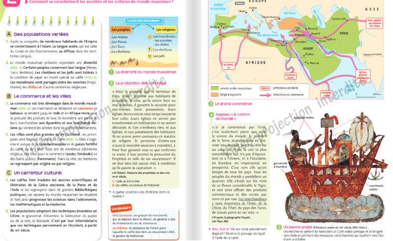 Comment l'islam est abordé dans les manuels scolaires ?  Hatier14