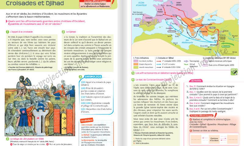 Comment l'islam est abordé dans les manuels scolaires ?  Hatier16