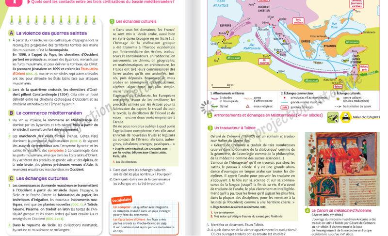 Comment l'islam est abordé dans les manuels scolaires ?  Hatier17