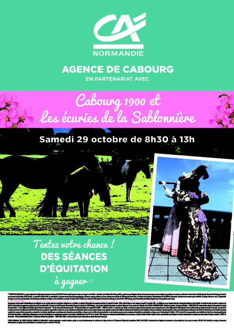 La Presse ,  Cabourg 1900 Aff_a310