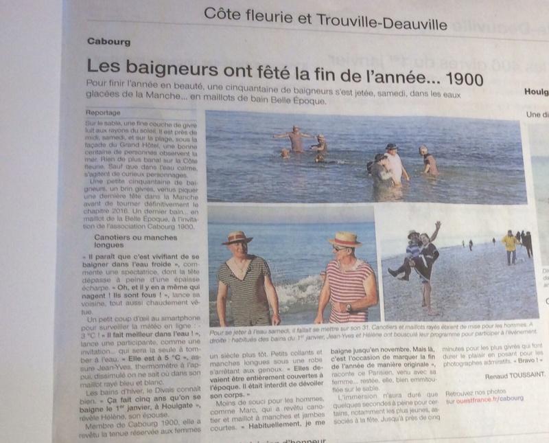 La Presse ,  Cabourg 1900 Fullsi11