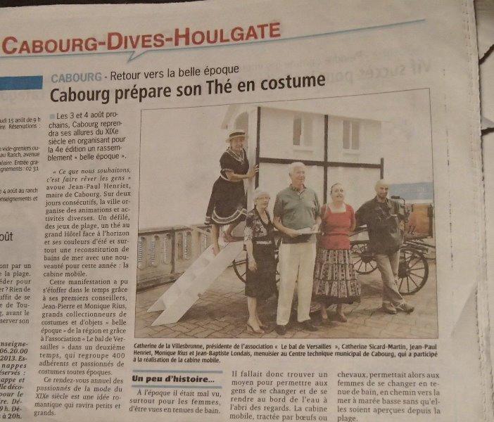 La Presse ,  Cabourg 1900 Image12