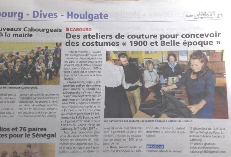 La Presse ,  Cabourg 1900 Img_4610