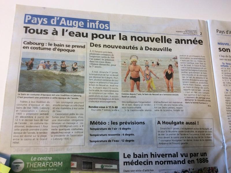 La Presse ,  Cabourg 1900 Img_4717