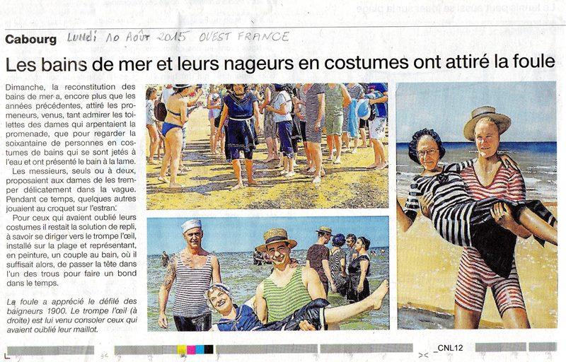 La Presse ,  Cabourg 1900 Journa10