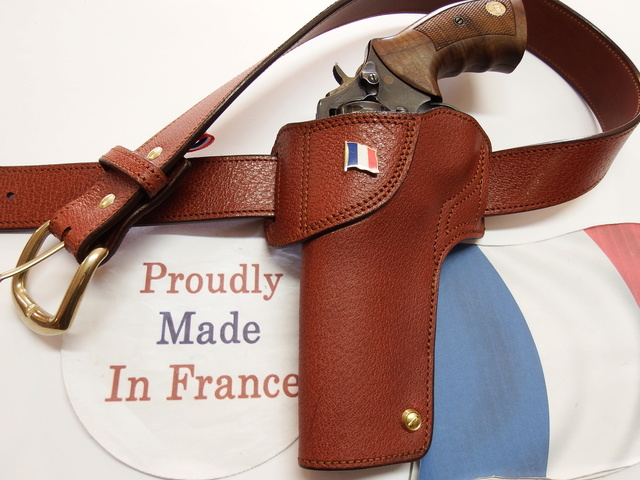 "HOLSTER CUIR  port civil : ""le 127"" by SLYE  Dscf0428"