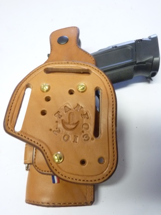 "HOLSTER CUIR "" MULTI FONCTIONS"" : le ""DREADFULL"" by SLYE P1120115"