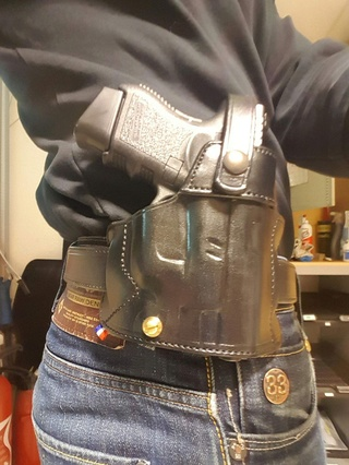 "GLOCK  ""OPEN CARRY"" HOLSTER by SLYE  Porty_11"