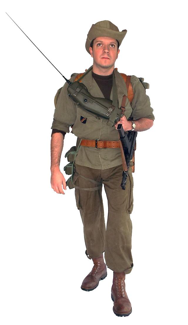 Sergent chef de groupe 8e RIMa - janvier 1960 Ok413