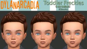 Детали кожи для тодлеров и детей Uten_524