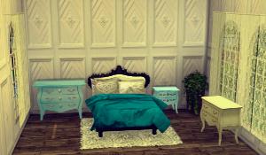Спальни, кровати (антиквариат, винтаж, средневековье) Uten_619