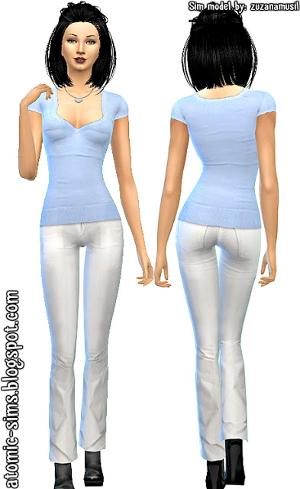 Повседневная одежда (комплекты с брюками, шортами)   - Страница 3 Uten_n34