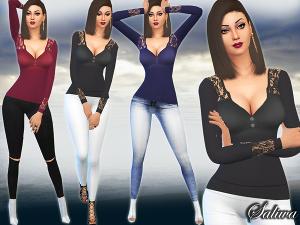 Повседневная одежда (топы, рубашки, свитера) - Страница 6 Uten_n63