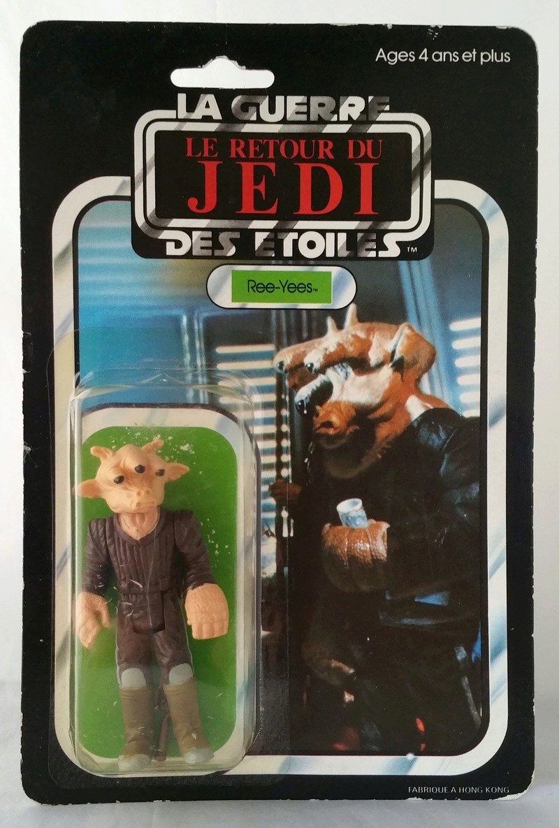 FS: Carded Meccano Ree Yees and Ledy Zuckuss 18991610