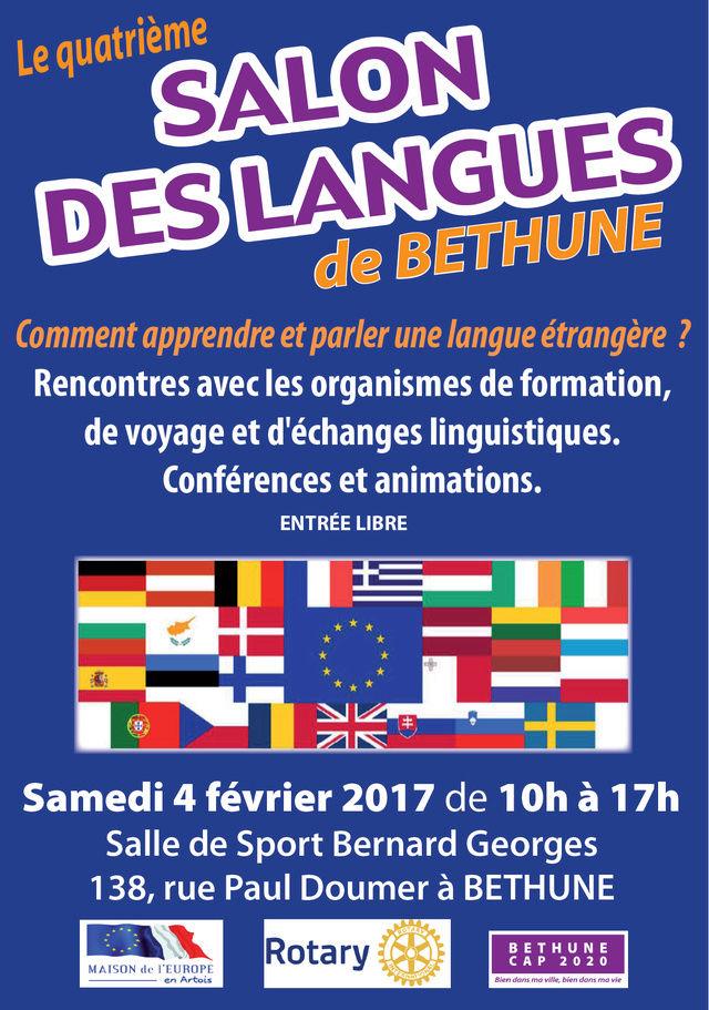 Le 4ème salon des langues de Béthune ce 4 Février 2017 4e-sal11