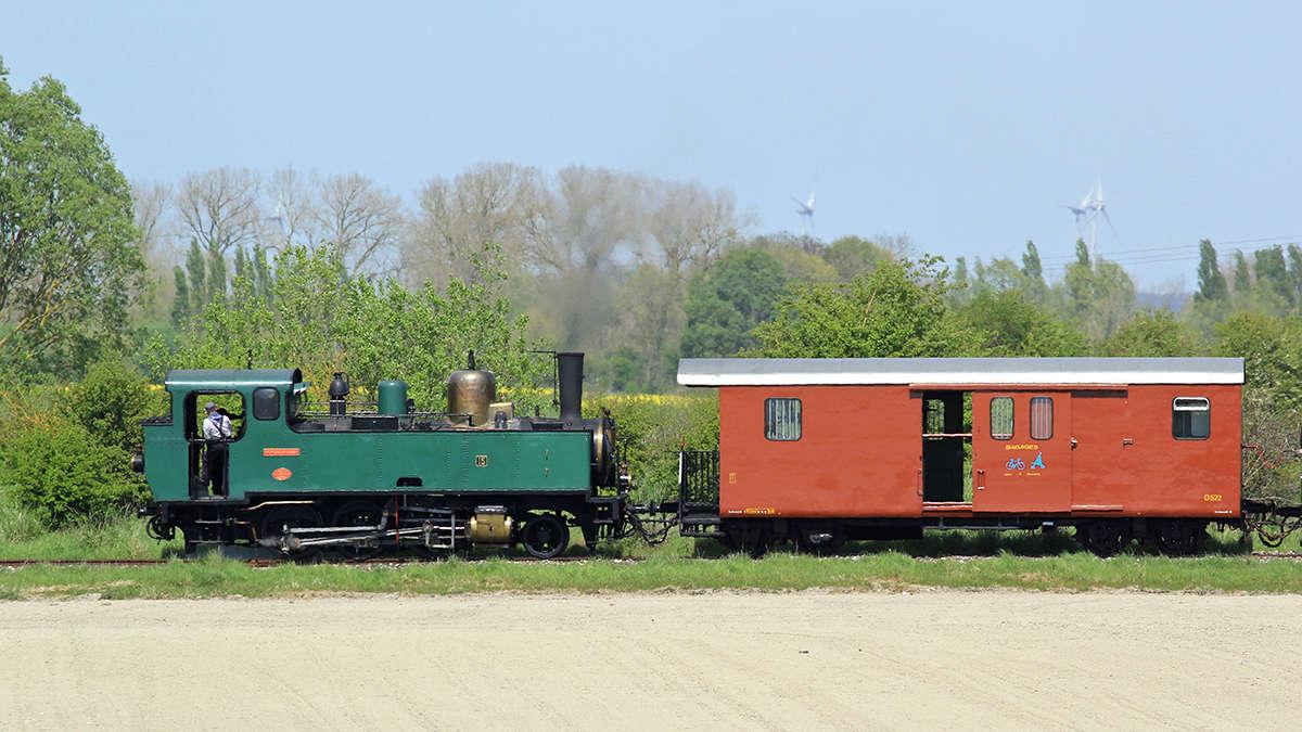 Trains du Chemin de Fer de la Baie de Somme. Img_7011
