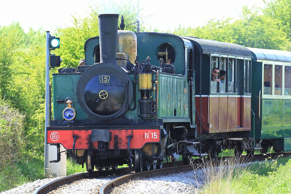 Trains du Chemin de Fer de la Baie de Somme. Img_7013