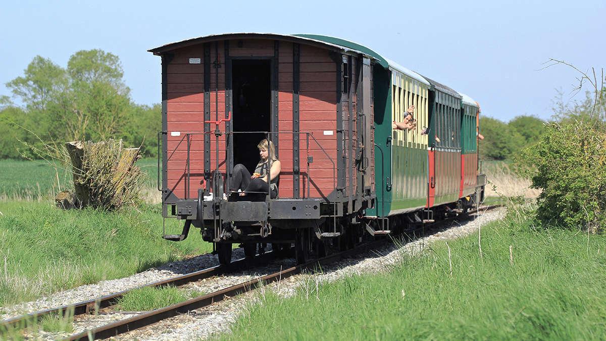 Trains du Chemin de Fer de la Baie de Somme. Img_7016