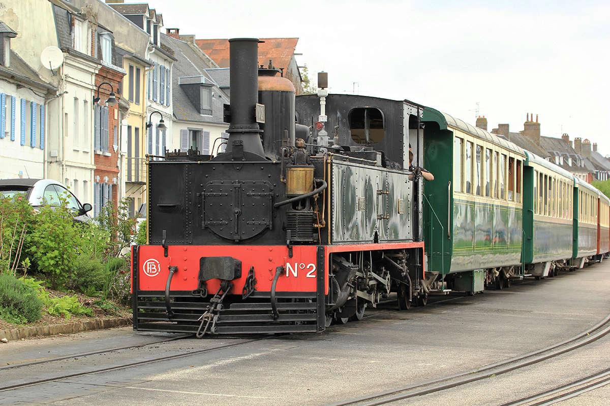Trains du Chemin de Fer de la Baie de Somme. Img_7114