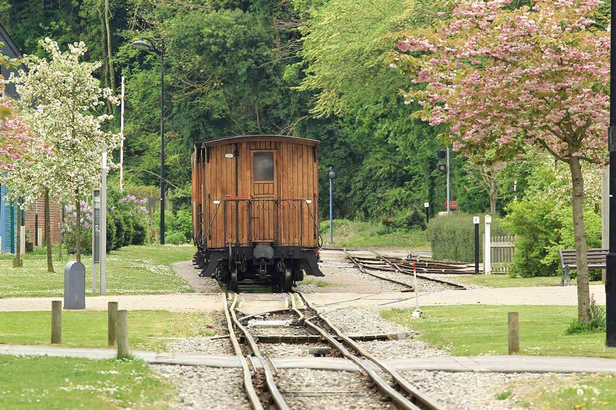 Trains du Chemin de Fer de la Baie de Somme. Img_7115
