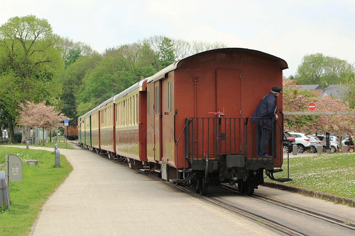 Trains du Chemin de Fer de la Baie de Somme. Img_7116