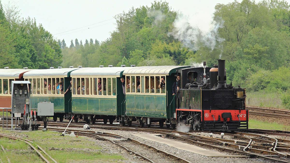 Trains du Chemin de Fer de la Baie de Somme. Img_7119