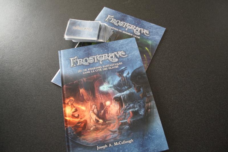 Vente livres frostgrave + bande & monstres : Vendu Bouqui10