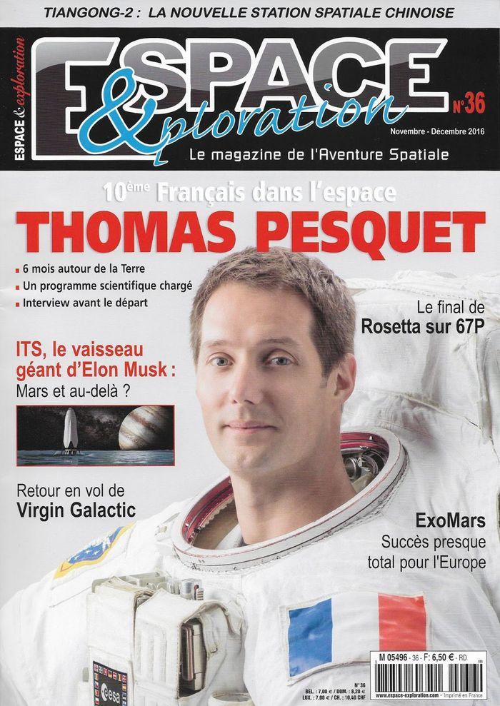 Espace & Exploration n°36: Thomas Pesquet   16110010