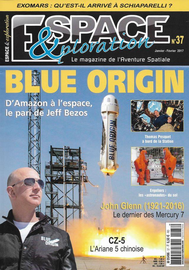 Espace & Exploration n°37: Blue Origin 17010010