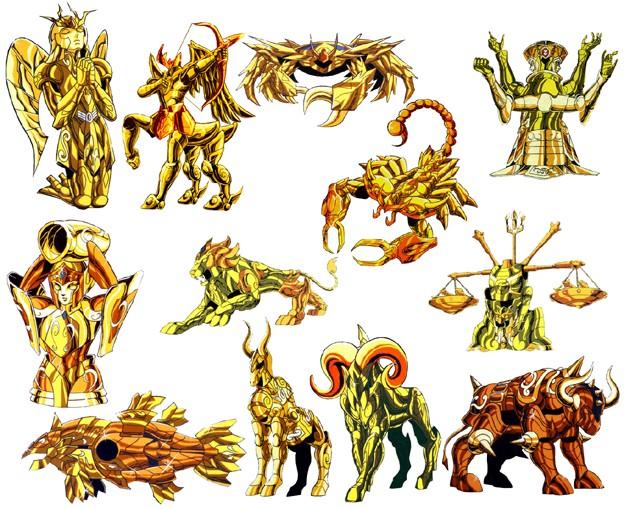 Les armures d'or Toutes11