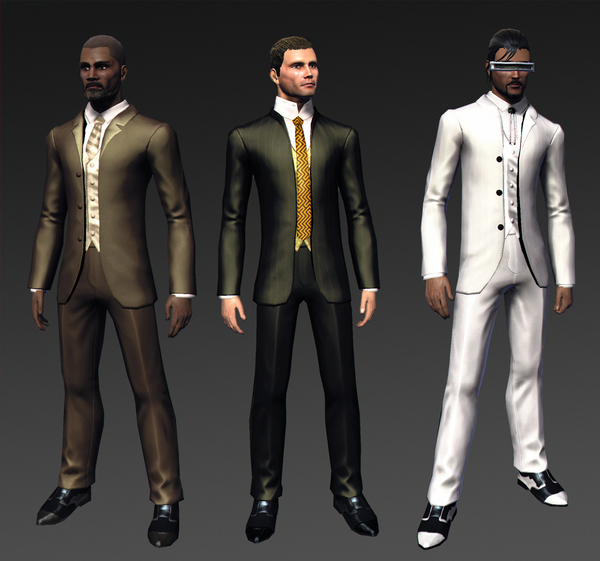 New screens of upcoming Formal and Mercenary outfits! 14006910
