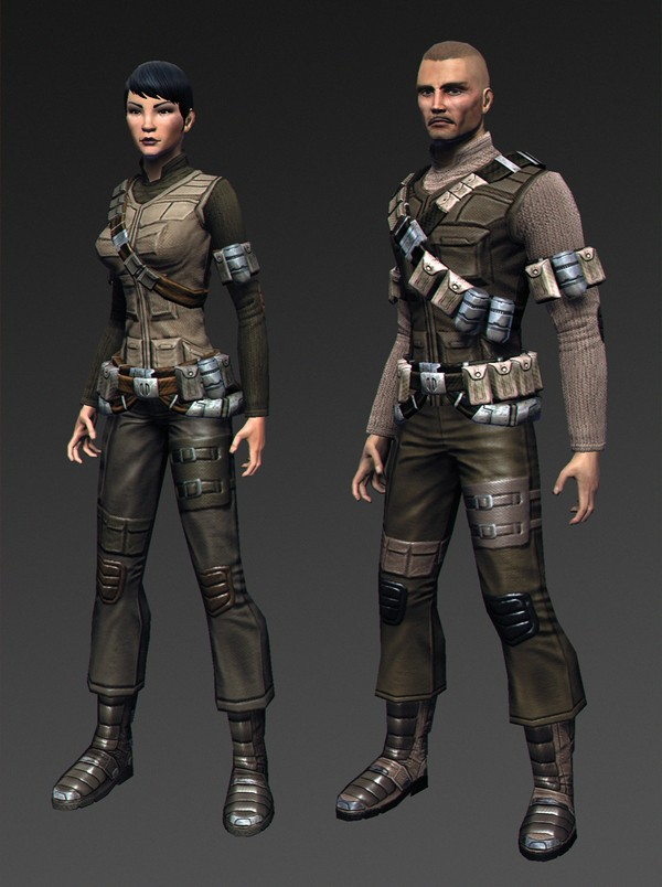 New screens of upcoming Formal and Mercenary outfits! 14006911